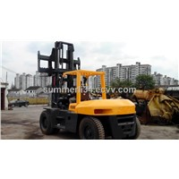 used TCM 10ton forklift origina forklift in good condition