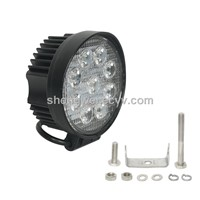 Epistar Round 27W 9 LED Work Light for off Road Use