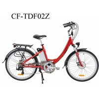New 120kg Women Loaded Electric City Bike