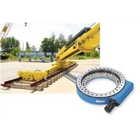 slewing drive for railway  crane