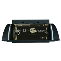 "10.2"" inch touch screen car For BMW dvd player with GPS navigation/blue tooth/radio AM/FM /D-TV"