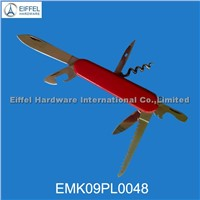 High Quality Multi Pocket Knife, Handle Color Can Be Customized(EMK09PL0048)