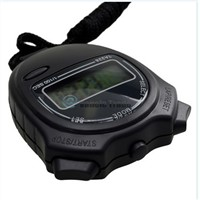 Handheld Digital Professional Chronograph Timer Sports GYM Pocket Stopwatch