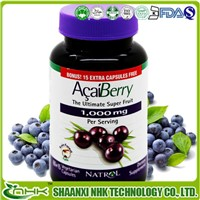 Manufacturer Supply High Quality Acai berry Powder , acai berry extract from Acai berry