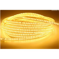 Yellow LED Strip Lights SMD5050 Waterproof IP65 Flexible led rope light curtain light