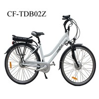 New  Aluminium Alloy Frame City  Electric Bicycle