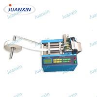 Automatic hook&loop velcro cutting machine
