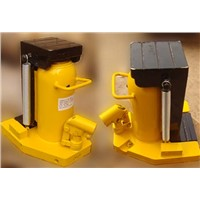 Hydraulic toe jack application and details