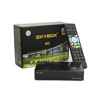 Original Skybox M5 USB wifi inside Dual Core CPU Set Top Box /DVB-S2