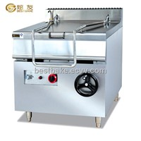 Stainless Steel 80 Liters Gas Tilting Braising Pan (BY-GH980)
