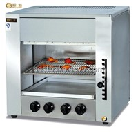 Gas Infrared Salamander grill with 4 burner BY-GT14