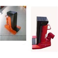 Hydraulic lift toe jack classific and manual instruction