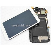 Samsung Note 2 LCD assembly with digitizer assembly
