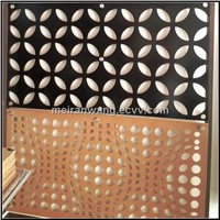 laser cut metal screens/laser cutting perforated mesh