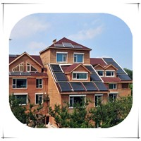 6KW /5KW /3kw /2kw SNAT Complete On grid solar home power system Generator