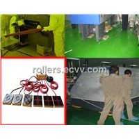 Air caster rigging systems move heavy loads safely