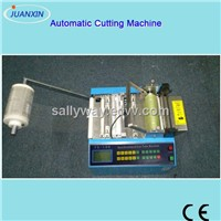 Automatic plastic pvc sleeve cutting machine, sleeve cutter