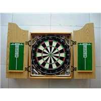 China Dart Factory Supply MDF Dartboard Cabinet For Bristle Dartboard