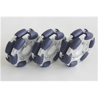 100mm Aluminum Double Omni wheel with bearing rollers