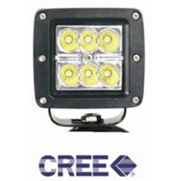 18w-S-cree LED work light for off-road vehicles,engineering vehicles
