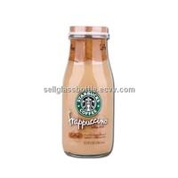 300ml Starbucks Glass Milk Bottle
