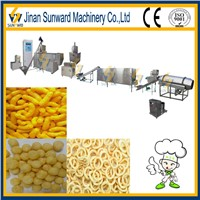 Puffed snack making machines made in china with CE