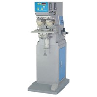 Single Color Pad Printing Machine with Two Heads
