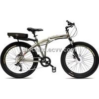 V3 Storm 36V 300W 8 Speed Folding Electric Bicycle - 9Ah Li Ion