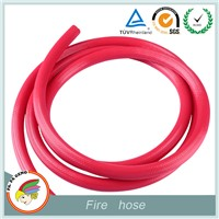 PVC fire hose for extinguisher