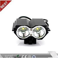 2 X Cree Xm-L T6 Bicycle Headlight