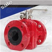 FEP lined ball valve