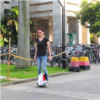 self balancing single wheel electric scooter