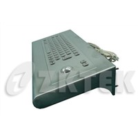 workstation industrial metal keyboard with function keys (MWS2810, 440.0mm x 175.0mm x 80.0mm)