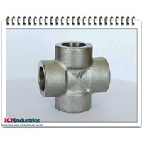 Forged 3000lb stainless steel cross socket