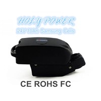 HLY-FR-24N10 24V 10Ah Frog E-bike Battery Pack