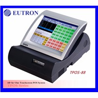 10.4 inch touch screen pos system, restaurant pos system