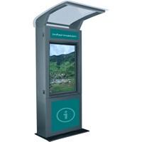 stainless steel waterproof outdoor touchscreen information kiosk