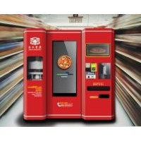 2014 new products Freshly baked pizza vending machine