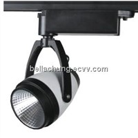 Best sell ultra brightness gallery display 15w led track rail spotlight