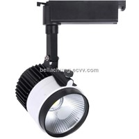 Ultra brightness display spot light AC100-240V 1800lm 20w led track lamp