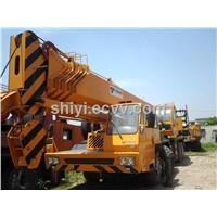 Used tadano truck crane GT550E
