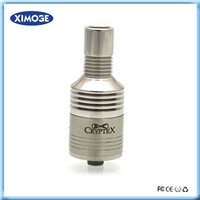 Top selling factory price 26650 cryptex rda atomizer ss cryptex atomizer cryptex dripping atomizer