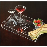 Acrylic Tea Serving Tray