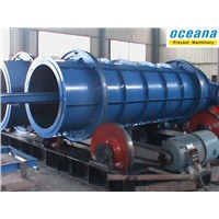 High Quality Roller Suspension Concrete pipe making machine