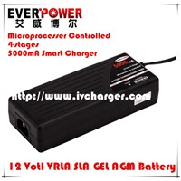 Everpower 100watts 12V SLA battery smart charger