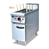 Free standing Gas Pasta Cooker with Cabinet (BY-GH978)
