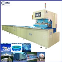 China automatic high frequency welding machine for PVC canvas, tarpaulin, and large covers