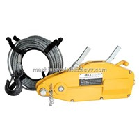 Wire rope pulling hand tools price list and instruction