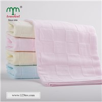 Solid color fully cotton gauze hand towel