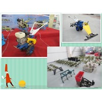168 gasoline engine mini-tiller/ rotary tiller/ multifunctional garden and farm machines